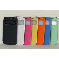 S View Flip Cover Leather Case Open Window for Samsung Galaxy S4 S IV i9500