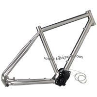 Touring Titanium Bike Frame with Pinion Drive System PINION 014