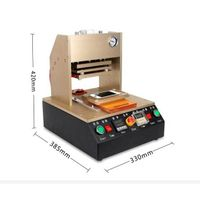 High Quality Frame Laminating Machine LCD screen refurbish Frame Laminator + 5 pcs mould for Iphone