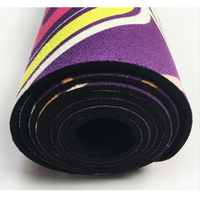 Sublimated suede YOGA Mat  Rubber Yoga Mat  Deluxe Yoga Mat Wholesalers   Deluxe Yoga Mat For Sale
