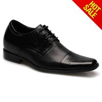 Top quality handmade wedding bridegroom lace-up shoes
