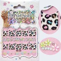 fashionable individualized nail sticker