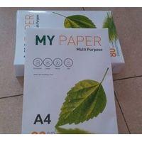 106% Brightnes A4 Copy Paper (210mm*297mm) 80GSM