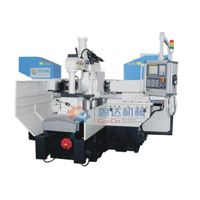 Horizontal CNC milling lathe