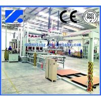 Short cycle lamination high speed line/ melamine press machine