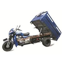 Double Front Shocker Absorber  Double Rear Tire Strong Tricycle  Hydraulic Dump thumbnail image
