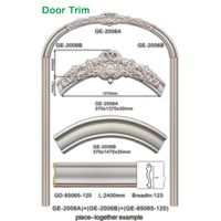 European Style decorative polyurethane door frame