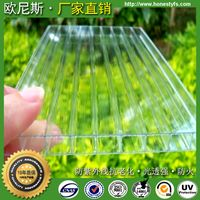 UV protection polycarbonate roofing sheet for 10 years warranty for roofing building carport