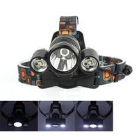 Most Popular Green Hunting Light 3pcs CREE LED Headlamp