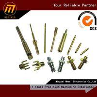 custom CNC machining copper parts