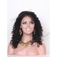 Brazilian Curl Chinese Virgin Hair Full Lace Wigs VFLW9907