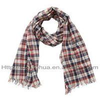Beautiful spring  plaid  foulards fashion scarf
