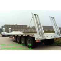 HOT SALE SINOTRUCK 4 AXLES LOW BED TRAILER
