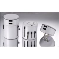Universal Travel Adaptor with Dual Charger