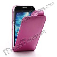 Smooth Leather Case Flip Up and Down Design for Samsung I9500 Galaxy S4 I9505 I9508