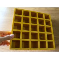 Fiberglass Pattern Solid Top Grating