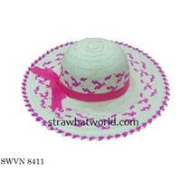 Lady's Straw Hat, Factory Prices Lady's Hat Vietnam thumbnail image
