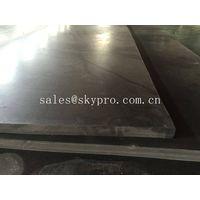SBR rubber plate sheet black rubber board 80mm max thick