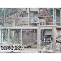 USED NORDBERG MODEL SX300 CONE CRUSHER WITH HYDRAULIC OIL TANK thumbnail image
