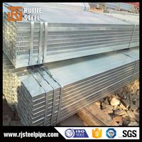 ASTM A53 hot dipped galvanized square steel tube