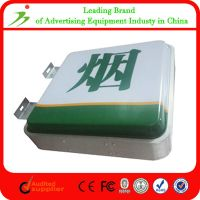 Customized Wall Mount Advertising Aluminum Vacuum Forming Light Box