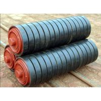 Buffer roller for belt conveyor