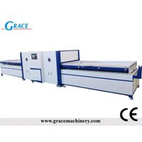 Vacuum laminating press machine, PVC film mbrane press, Membrane filming machine