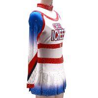 Perfessional Design Custom wholesale cheer Cheerleading Uniforms For Girls Spandex Sublimation OEM