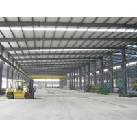 construction design prefabricated light steel structure workshop