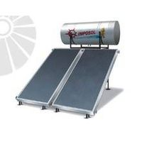 Compact Direct/Indirect Solar Panel Solar Water Heater for Home
