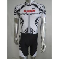 Custom-made sublimation speed skating suit, inline skating suit bib short
