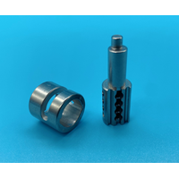 Metal injection molding MIM stainless steel electronic lock cylinder accessories thumbnail image