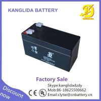 rechargeable `12v 1.3ah lead acid battery