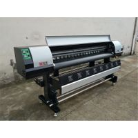 High Speed and Durable Eco Solvent Printer with Industrial heads Ricoh GEN5i 1.8m 6ft 55m²/h thumbnail image