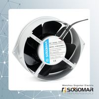 Hot sale axial fan 172x150x55mm metal blades CE