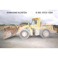 """USED """"KAWASAKI"""" MODEL KLD97ZA WHEEL LOADER S/NO. 97C3-1024 (MADE IN 2000) BUCKET CAPACITY 5M3. thumbnail image"""