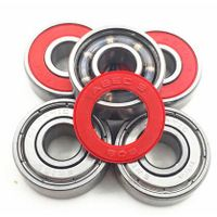 inline skate bearing inline speed skating bearings roller skates bearings 608zz Steel skating beari