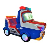 Coin Operated 3d police car kiddie ride video game machine car racing game machine thumbnail image