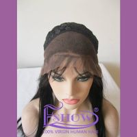 Silk Top Indian Women Hair Wigs,100% Human Hair Full Lace Wig thumbnail image