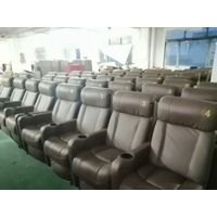 Home theater recliner sofa,auto reclining theater sofa