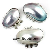 25-40mm nice mabe shell jewelry clasps