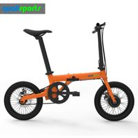 "16"" adult electric bicycle lithium battery electric bike folding ebike with LCD Display"
