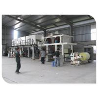 Paper coating machine for thermal paper with long image life characteristic