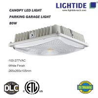 IP65 rating Canopy LED Lights 50W, 100-277vac, ETL/CETL listed, 5 yrs warranty