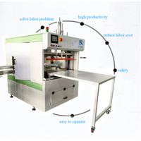 empty plastic PET PP canister bagging machine