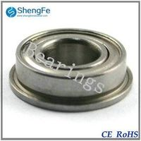 8x16x5mm F688zz Flanged Bearing