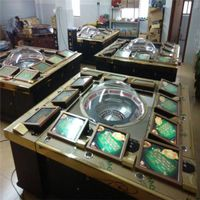 Standard 12 Palyers Roulette Machine for Hot-Sale