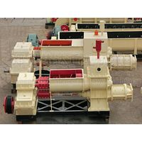 high efficiency mud  hollow vacuum brick machine thumbnail image