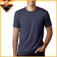 Anti-shrink 100% Cotton Blank Men T shirts