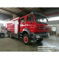 Beiben off road 6x6 water foam fire truck , Beiben 2534 , RHD/ right hand drive 12Ton water,4T foam